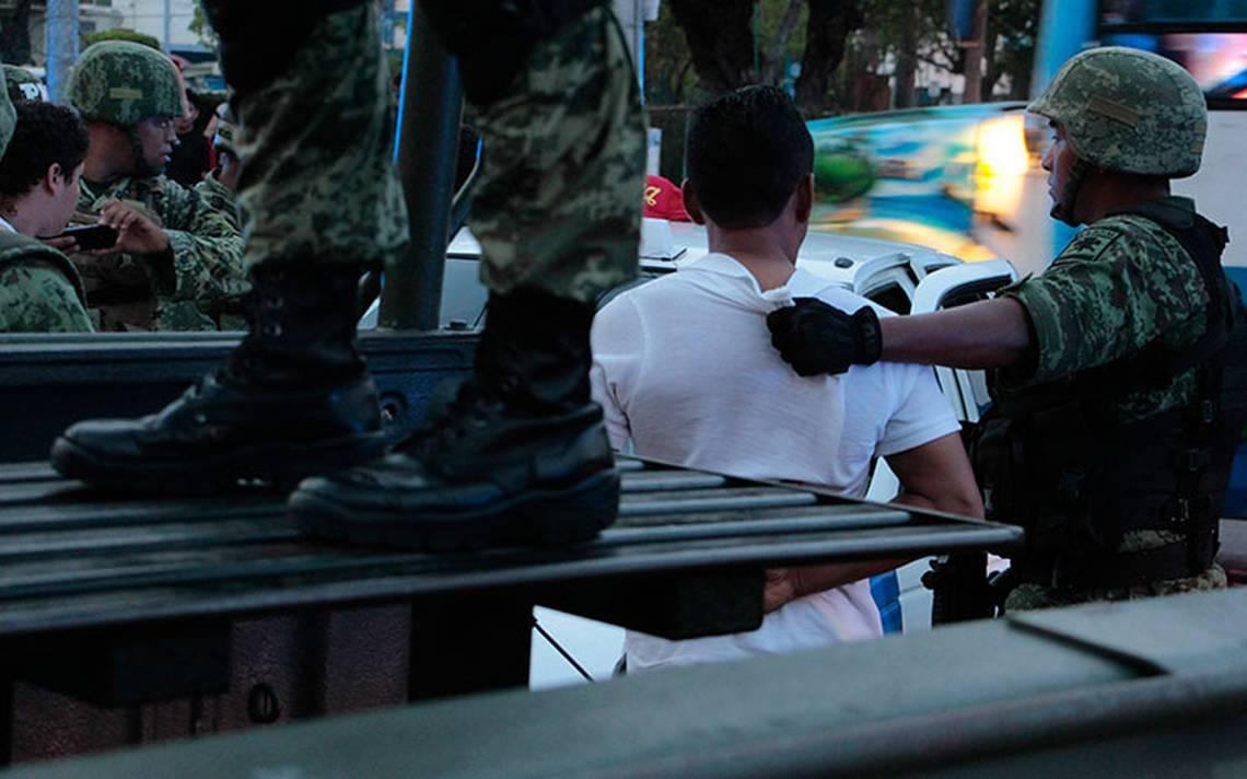 Capturan al presunto asesino de tres militares en Coyuca, Guerrero