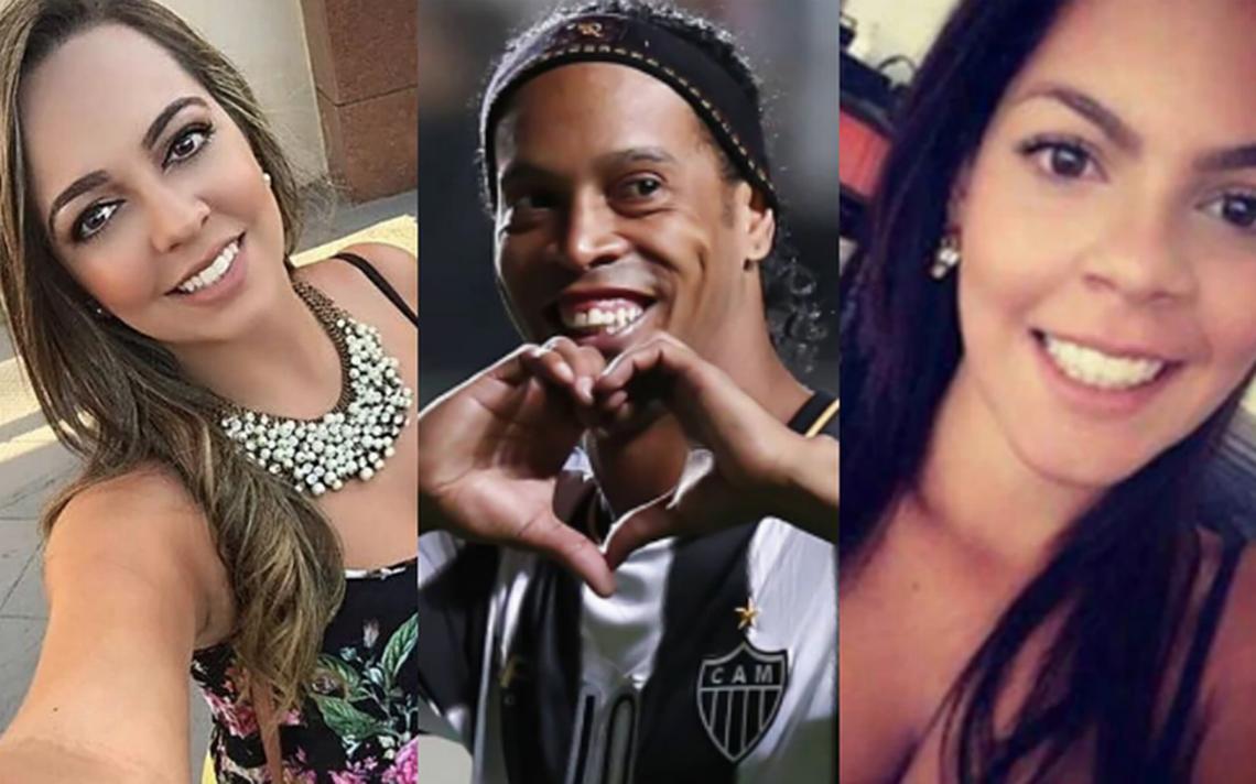 Ronaldinho lo aclara todo: ¿se casará con sus dos novias?