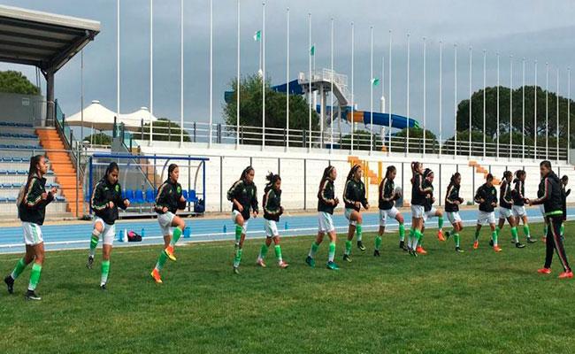 Tricolor femenil Sub-17 se enfrenta hoy a Eslovenia
