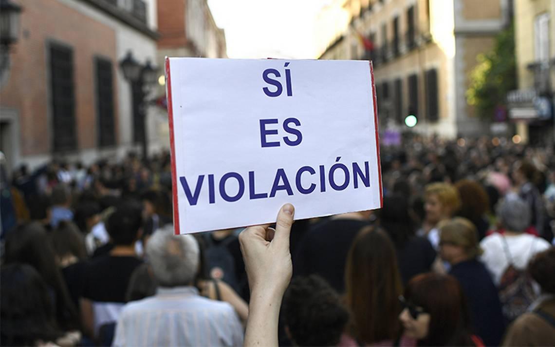 "EspaA�a vive tercer dA�a de protestas contra sentencia impuesta a  ""La Manada"""