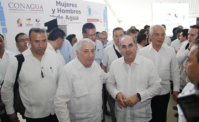 Solicitó Arturo Núñez a Conagua ampliación de recursos para obras de PC