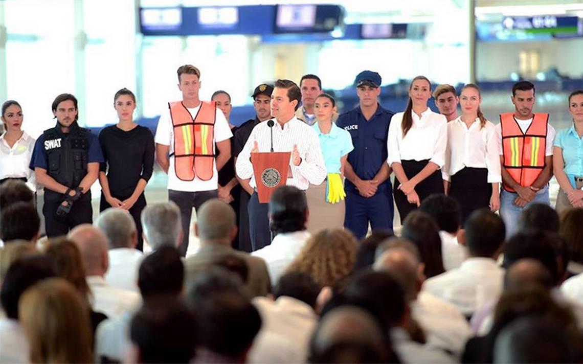 Pese a críticas, economía nacional avanza, destaca Peña Nieto