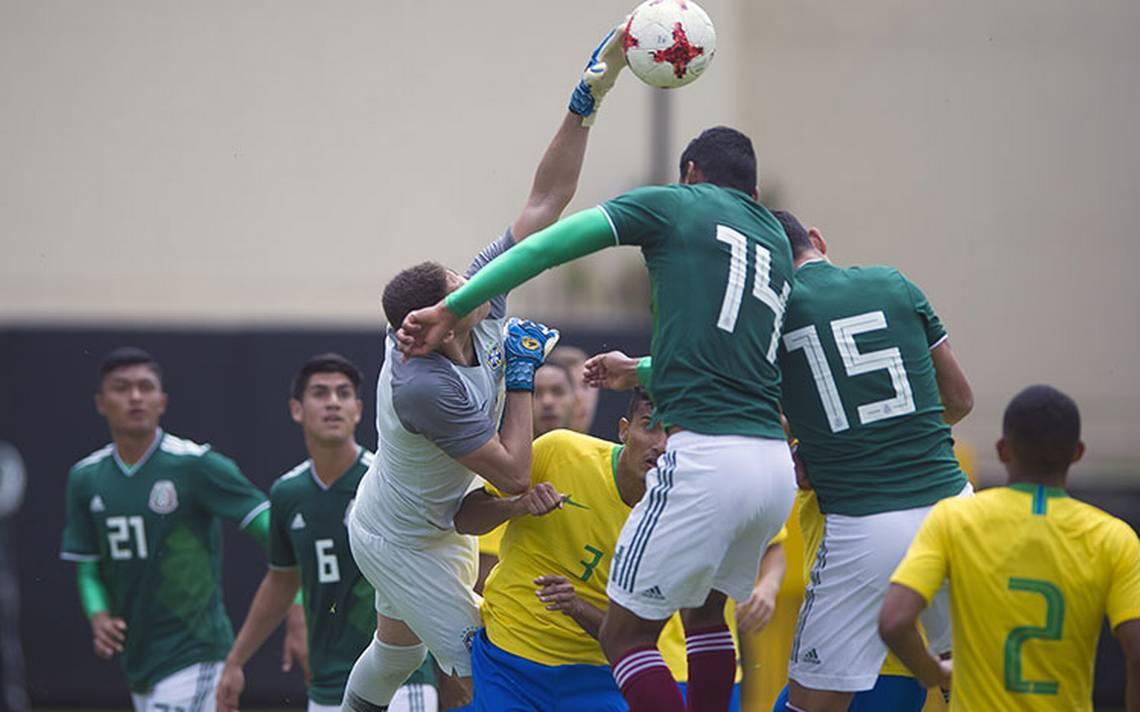 La Selección Mexicana Sub-20 cayó 0-2 ante su similar de Brasil