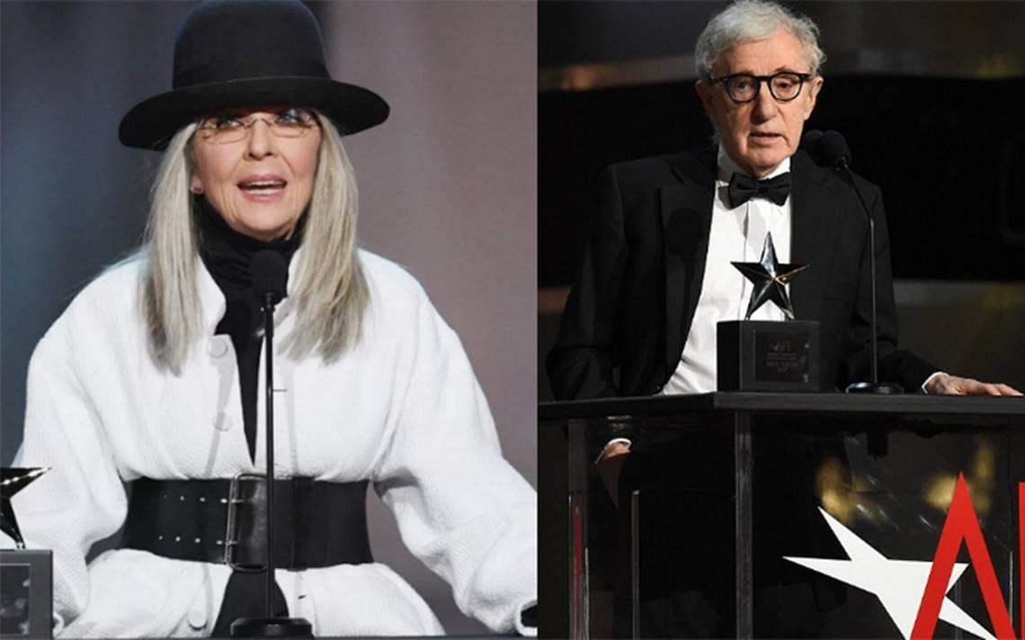 """""""Es mi amigo y creo en él"""", Diane Keaton sale en defensa de Woody Allen"""