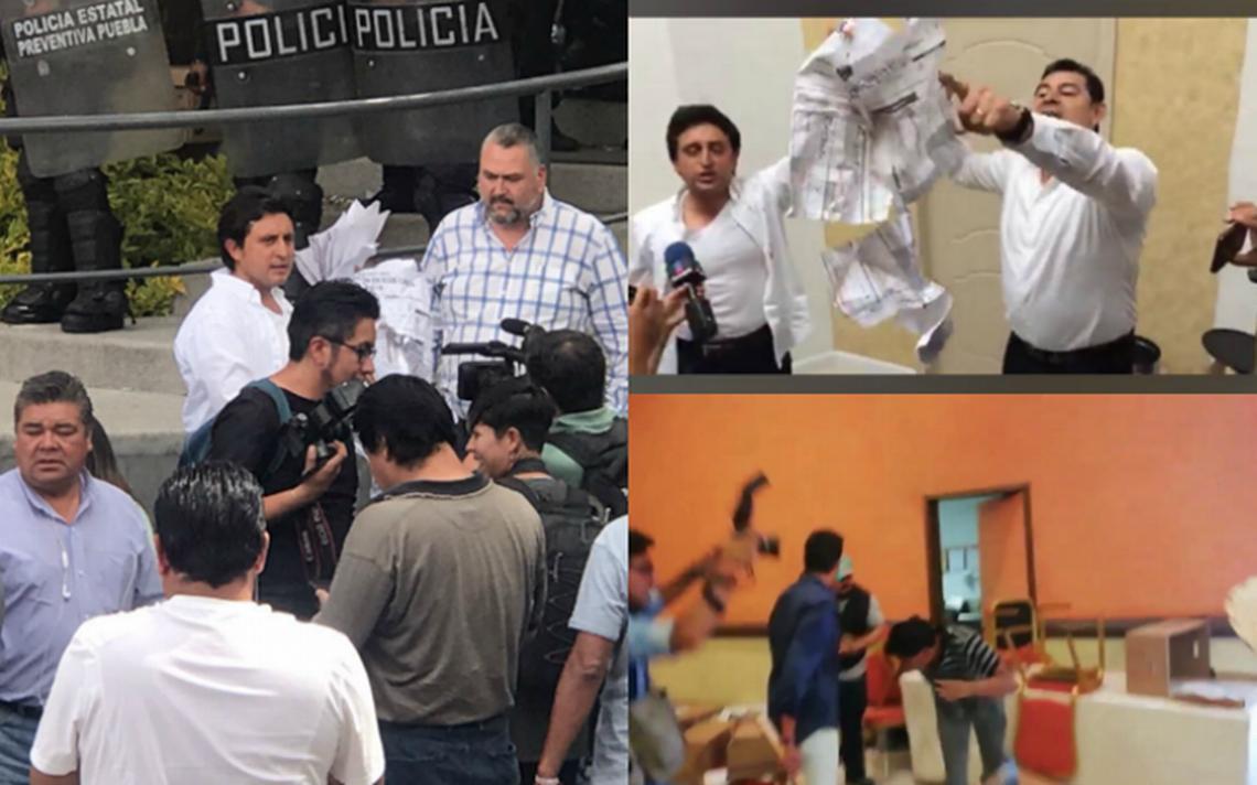 Reclama PAN a Morena allanamiento en oficinas de Puebla