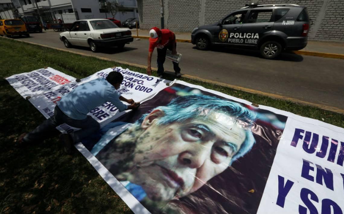 """Fujimori dice que si regresa a prisiA?n su corazA?n """"no lo va a soportar"""""""