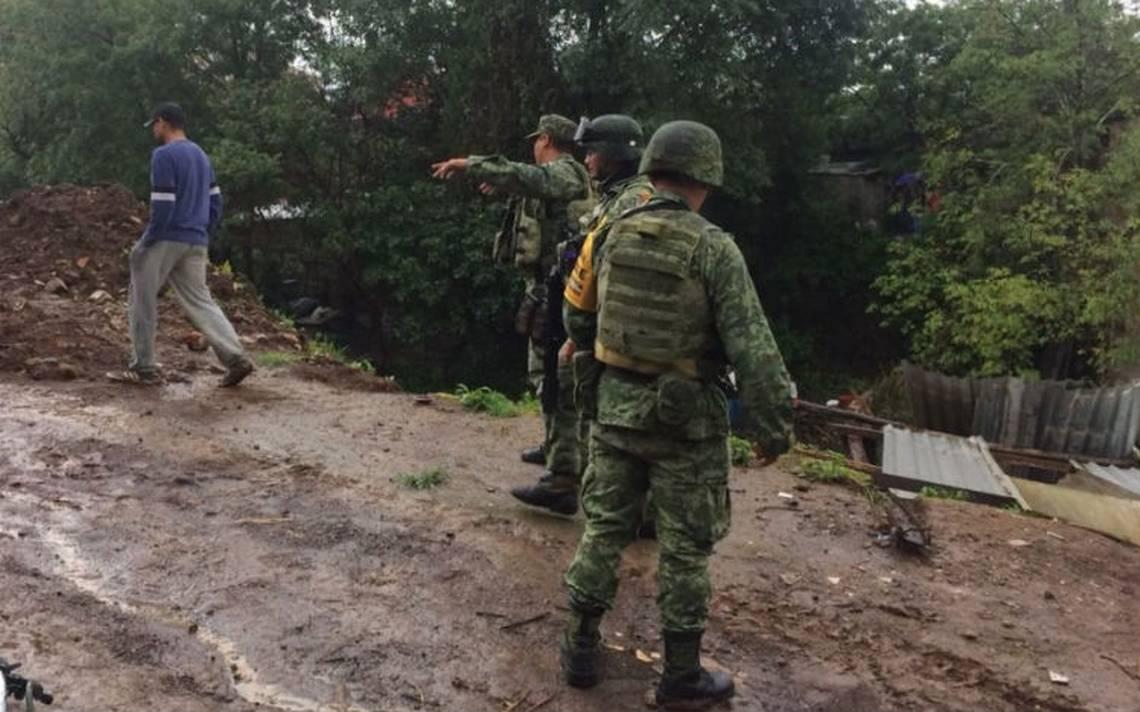Desbordamiento de río Cutio y presa Parástico en Michoacán deja un muerto