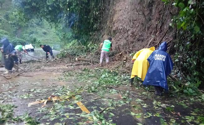 Evacúan de emergencia a  dos comunidades de Bella Vista
