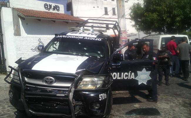 Emboscan a policías en Taxco