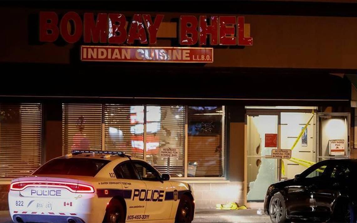 Dos hombres detonan bomba en restaurante de Canadá y dejan 15 heridos