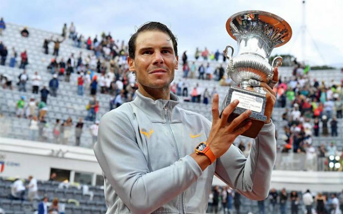 Nadal vence a Zverev y se corona por octava vez en Roma