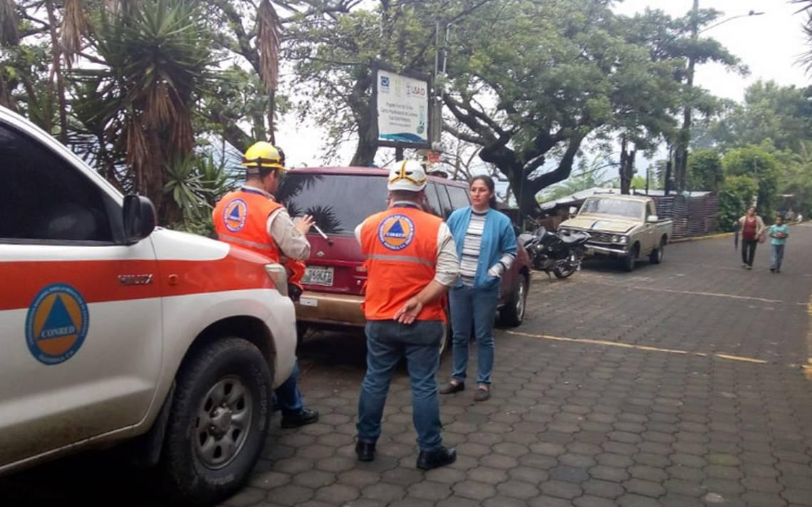 Alertan sobre flujo de lava del volcán Pacaya en Guatemala