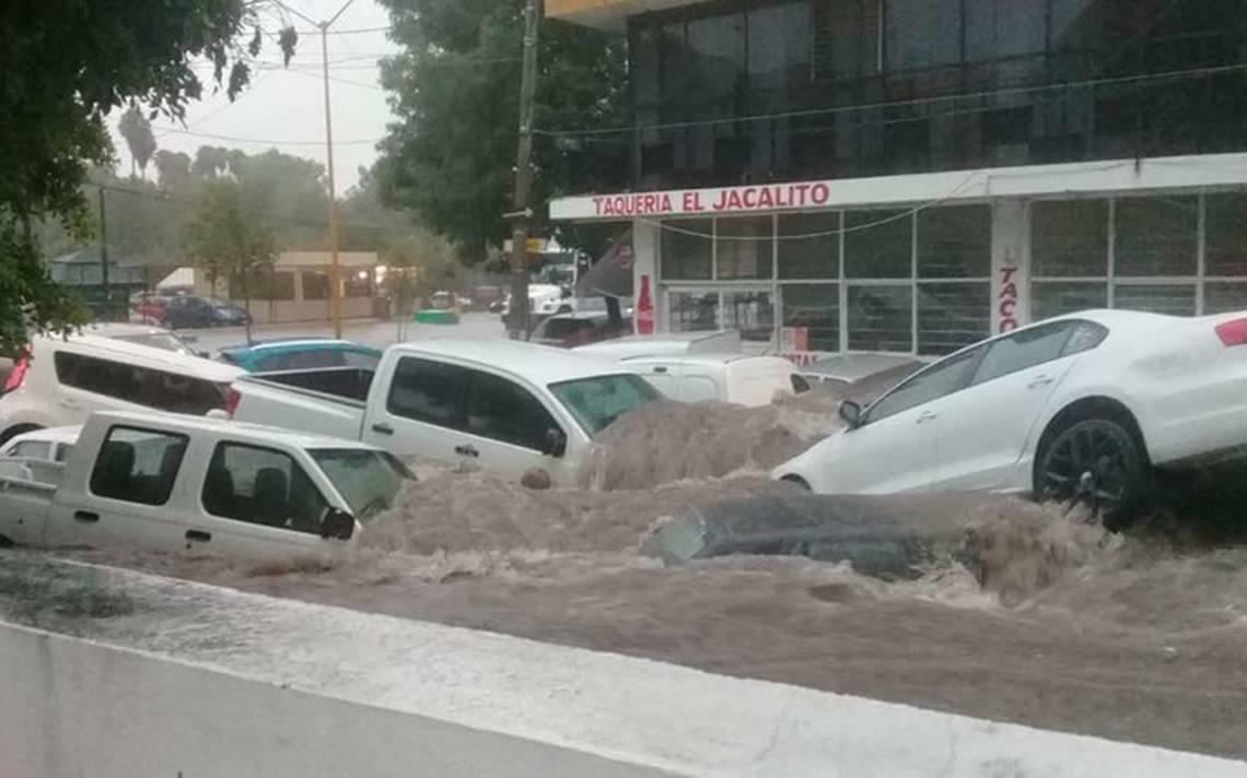 [Videos]  Cobra dos vidas y deja afectaciones, intensa lluvia en Aguascalientes