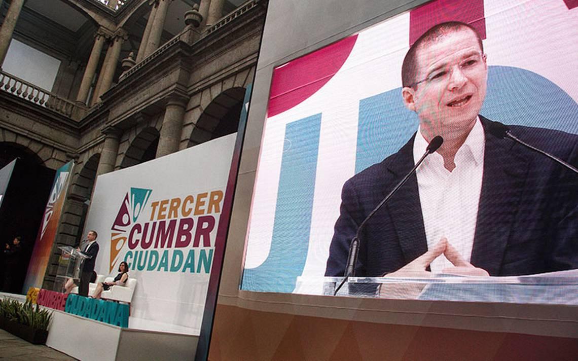 Anaya no polemizará con Felipe Calderón sobre exclusión de Zavala del PAN