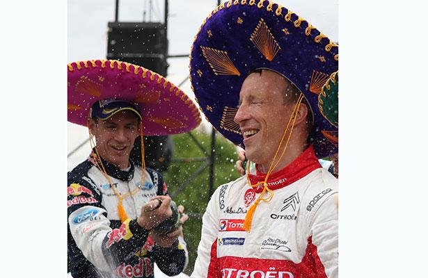 Al final le puso dramaismo Kris Meeke, campeón WRC