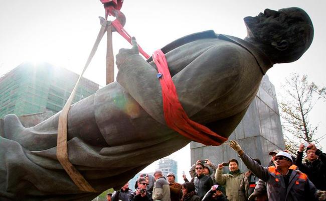 Subastada en solo 9 mil dólares estatua de Lenin