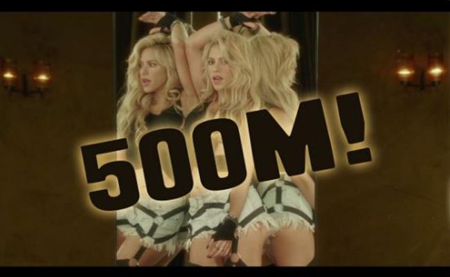 """Shakira sortea una cita por el éxito de video """"Chantaje"""""""