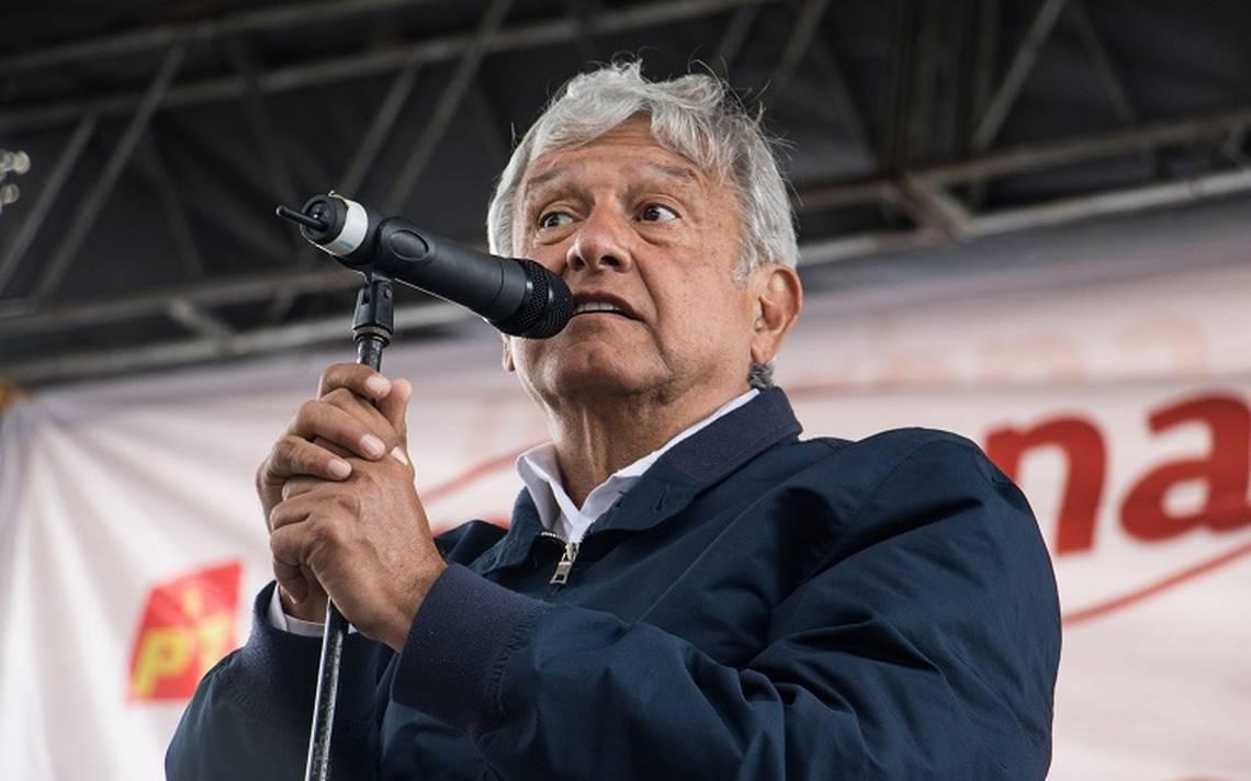 López Obrador a favor del NAIM si utilizan recursos de la iniciativa privada
