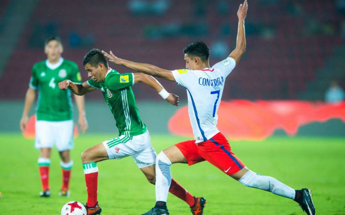 Con gris empate ante Chile, Tri Sub-17 avanza a octavos en Mundial