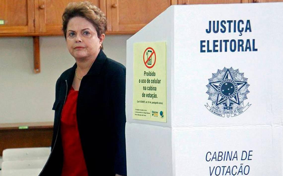 Dilma Rousseff pierde la elecciA?n para el Senado brasileA�o
