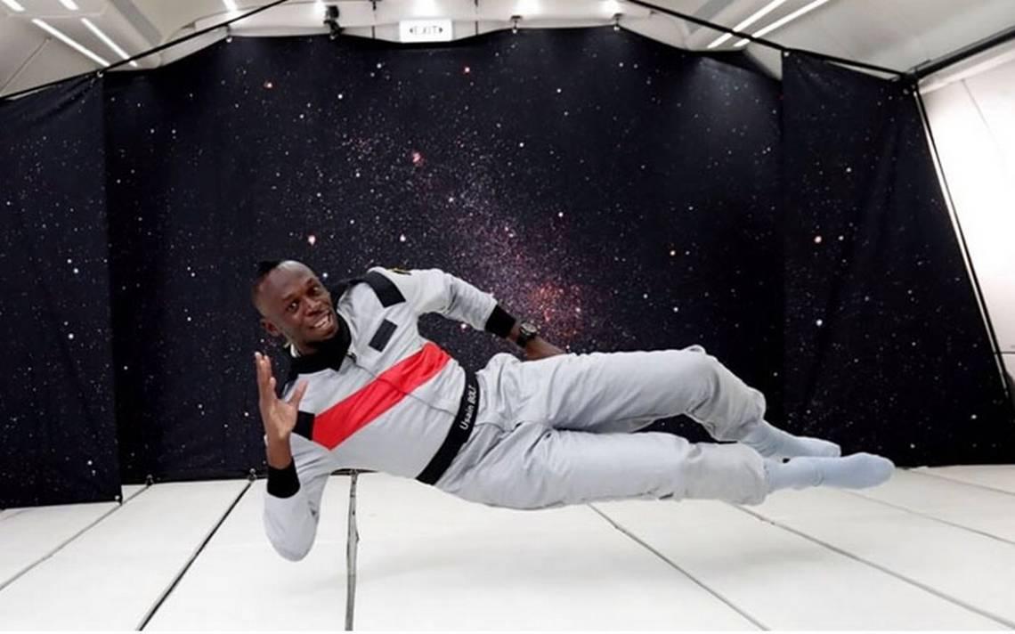 [Video] Así es como Usain Bolt corre… ¡con gravedad cero!