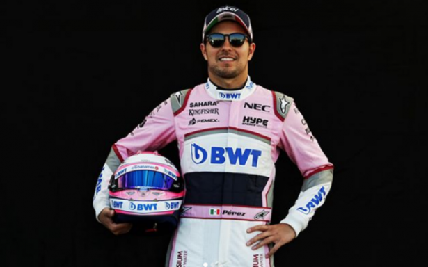 """""""Checo"""" Pérez busca ahora podio en el Gran Premio de España"""