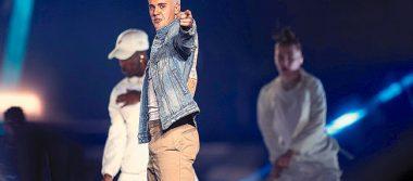 Justin Bieber ofrece gran concierto en el Foro Sol