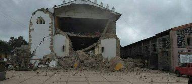 Dañados por el sismo alrededor de 50 edificios históricos en el Estado de México