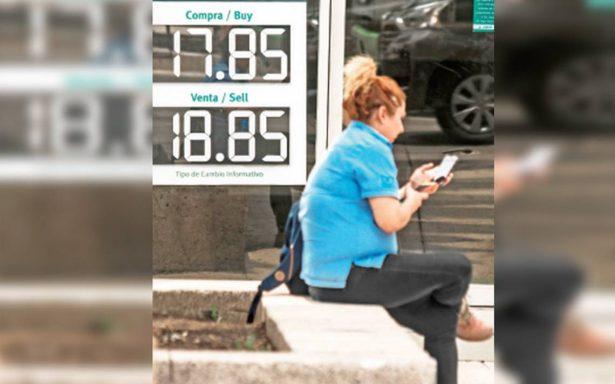 Es posible que el dólar regrese a los 20 pesos: presidente de Bursamétrica