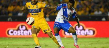 Tigres propina goleada de 5-0 al Puebla en debut del Apertura 2017