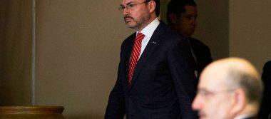 Inaceptable condicionar el TLCAN a leyes migratorias, responde Videgaray a Trump