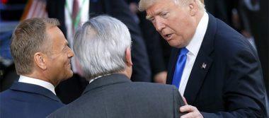 Trump diverge de la Unión Europea en clima, comercio y Rusia