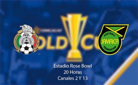 México enfrenta a Jamaica, por el pase a la final de la Copa Oro