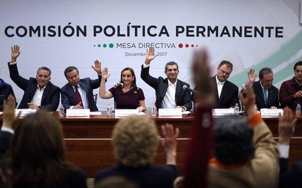 Ochoa Reza, Ruiz Massieu, Moreira, Osorio Chong y Vanessa Rubio encabezan lista de plurinominales del PRI