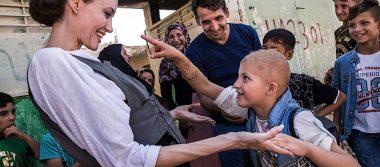 Angelina Jolie visita Mosul; pide ayuda para los iraquíes