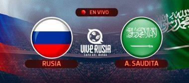 ¡Debut de ensueño! Rusia goleó a Arabia