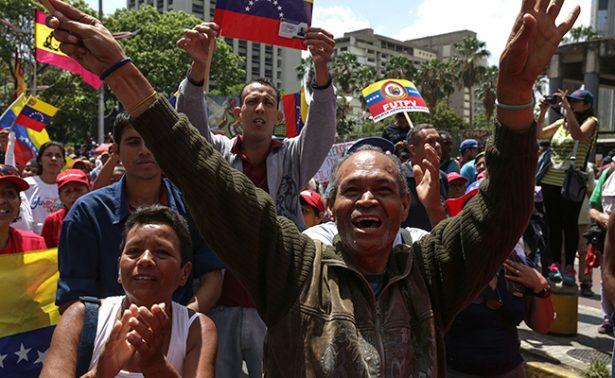 Oposición venezolana y chavistas marcharán entre temores de violencia