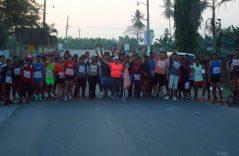 Con un maratón pobladores de Suchiate piden a autoridades atender problemas de inseguridad