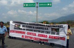 Día de marchas y protestas en Huixtla