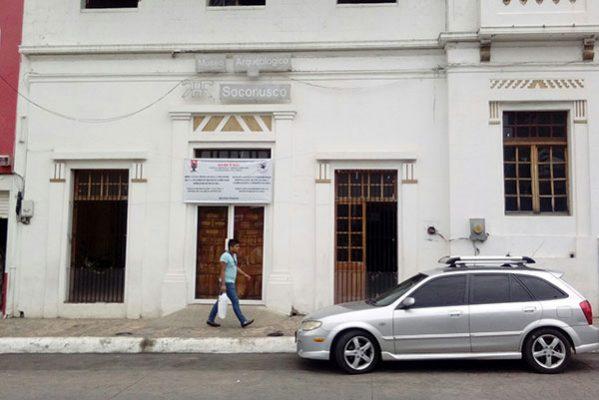 Abandonado desde el sexenio pasado museo arqueológico del Soconusco