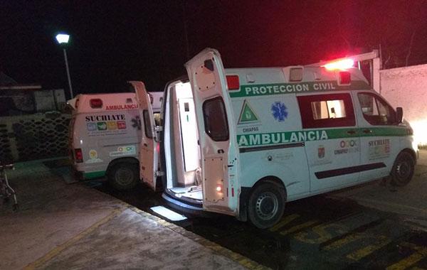 Balacera en Suchiate, deja como saldo a dos niños heridos