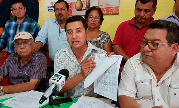 Seguidores de diputada Olvera Mejía vuelven a bloquear obra de hospital del IMSS