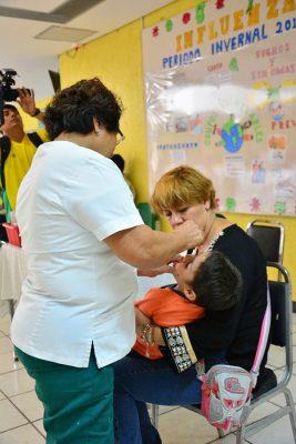 Inicia campaña de salud para la aplicación de la vacuna contra la influenza