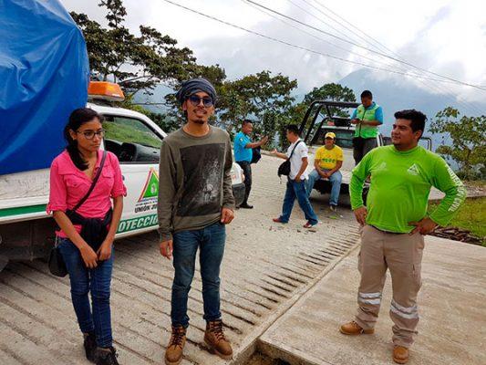 Encuentran a los dos jóvenes extraviados en el Tacaná
