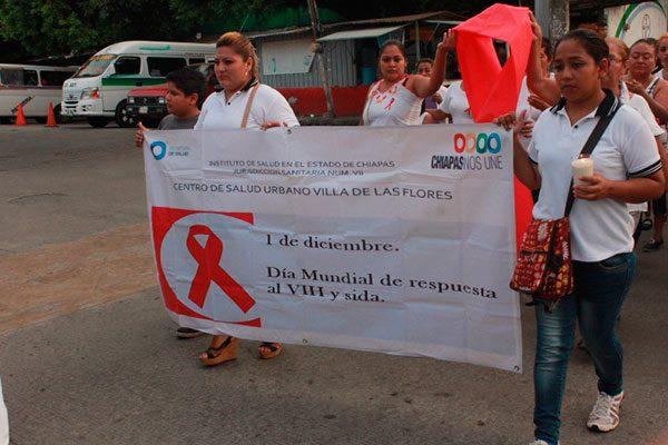 Marcha contra el VIH