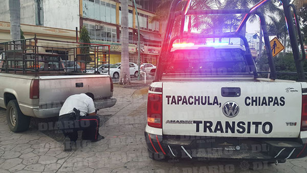 Sancionan a automovilista en el bicentenario
