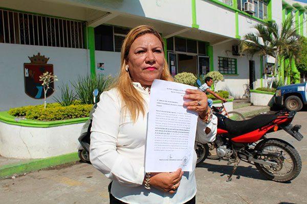 Regidora Sonia Eloina Hernández renuncia al Ayuntamiento en Suchiate