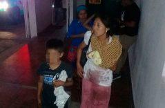 20 lesionados en volcadura en zona alta de Cacahoatan.