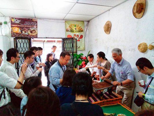 Cacaoteros en la mira de Japón