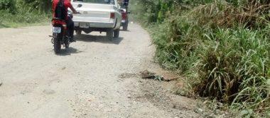 Motociclista frustra asalto en tramo carretero a Villa Comaltitlán